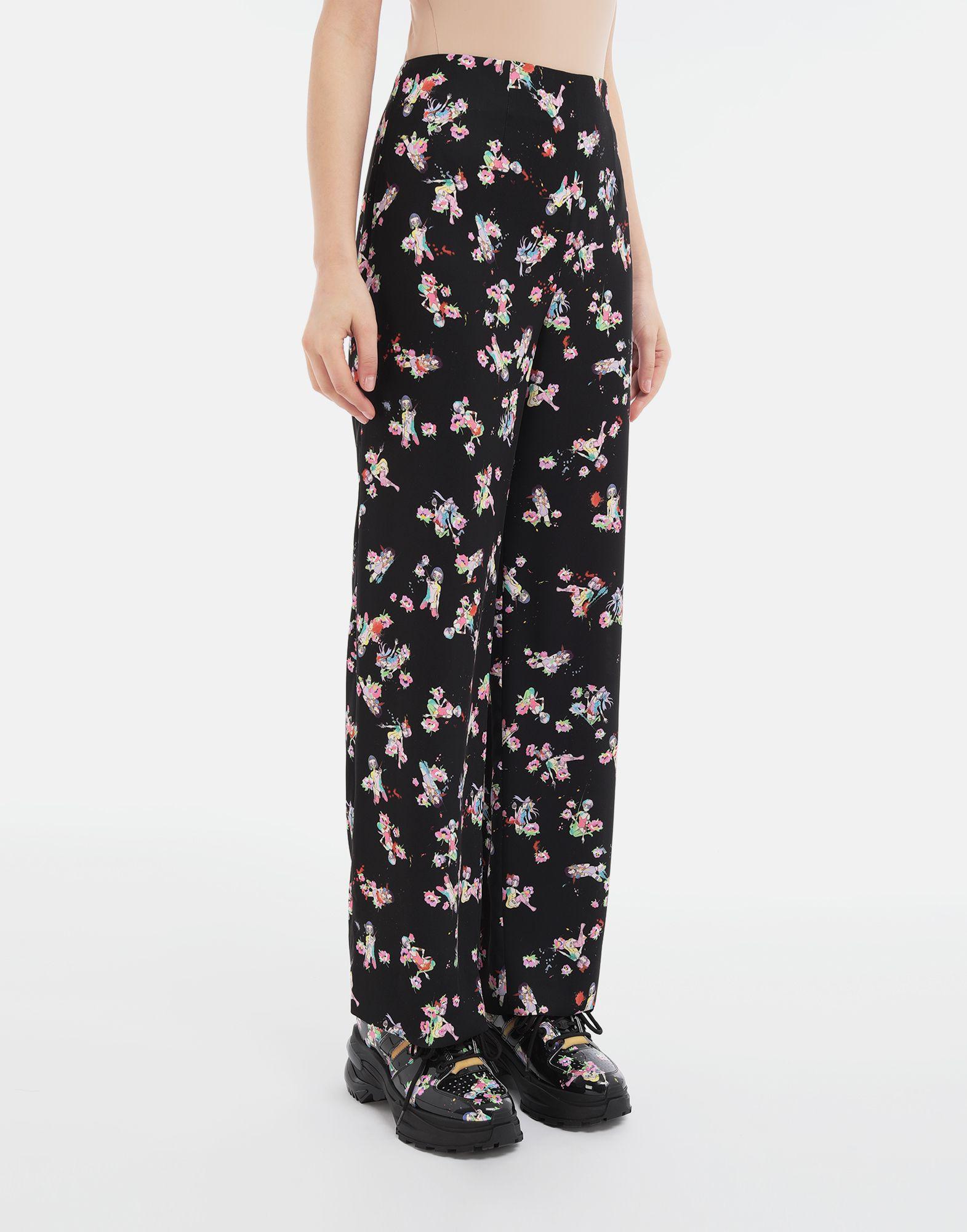 MAISON MARGIELA Kawaii-print pants Trousers Woman r