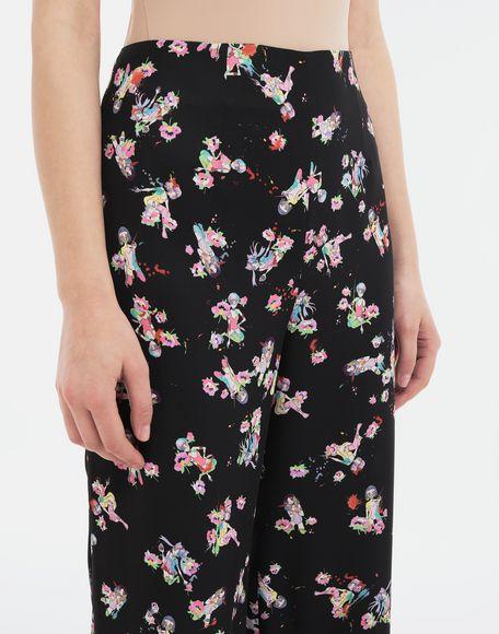 MAISON MARGIELA Kawaii-print pants Trousers Woman a