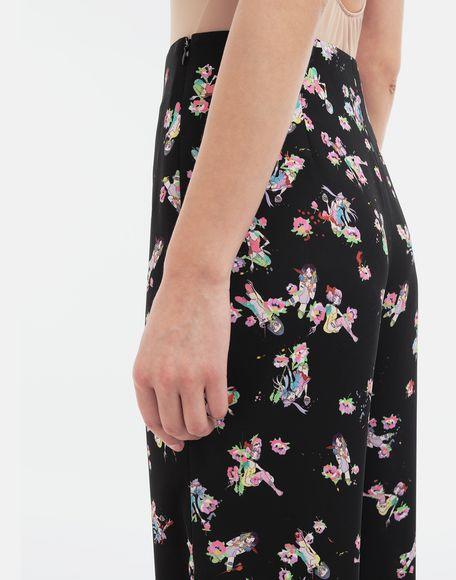 MAISON MARGIELA Kawaii-print pants Trousers Woman b