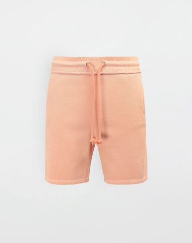 PANTS Drawstring cotton shorts