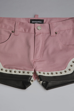 DSQUARED2 Studded Shorts Shorts Woman