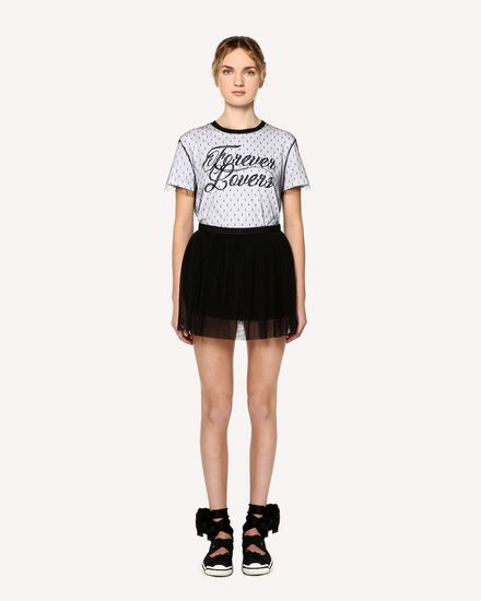 REDValentino Mini skirt Woman RR0RFA55428 0NO f