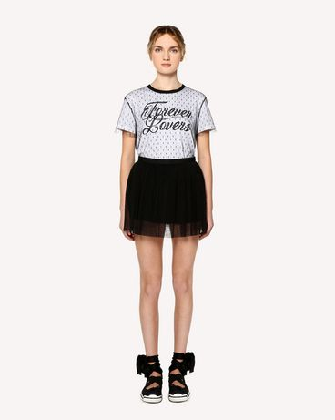 REDValentino RR0RFA55428 0NO Mini skirt Woman f