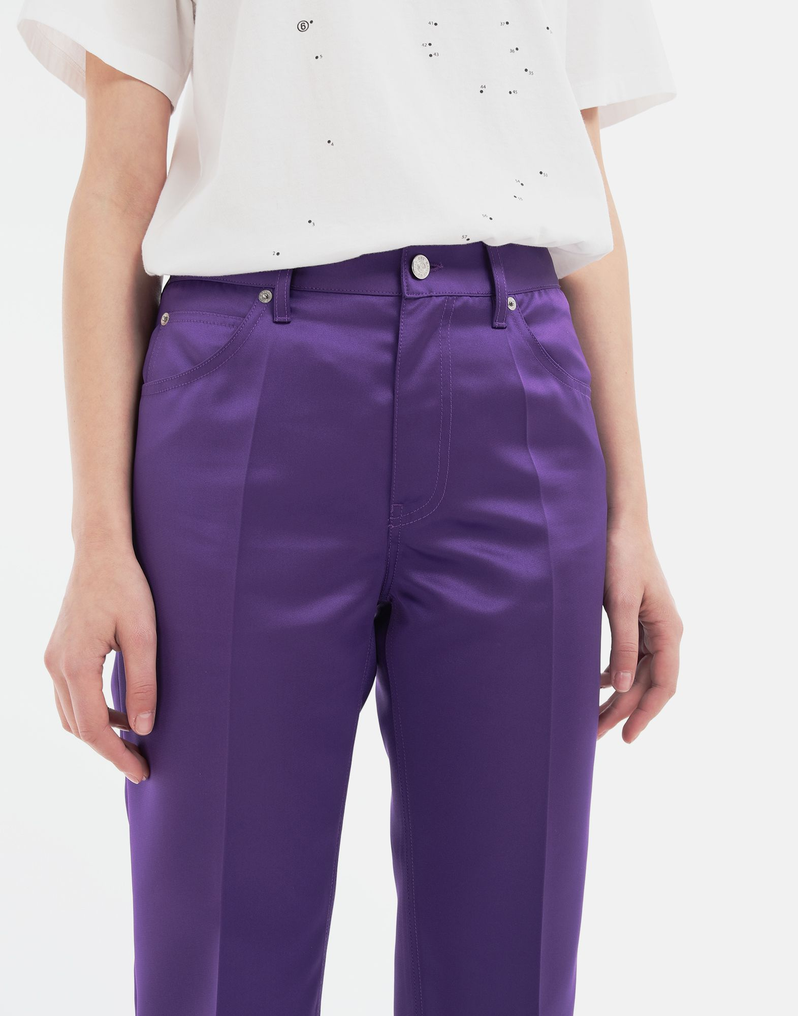 MM6 MAISON MARGIELA High-waisted trousers Trousers Woman a