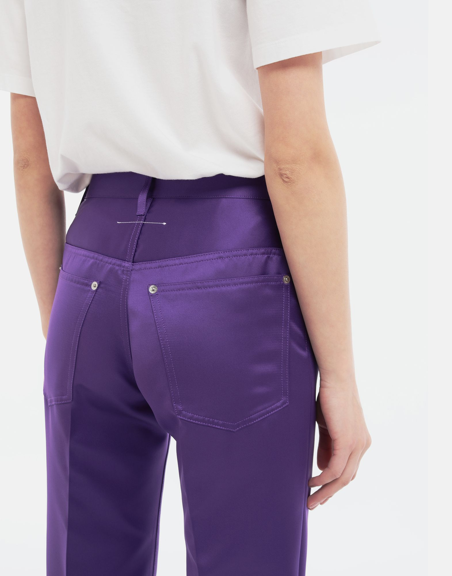 MM6 MAISON MARGIELA High-waisted trousers Casual pants Woman b