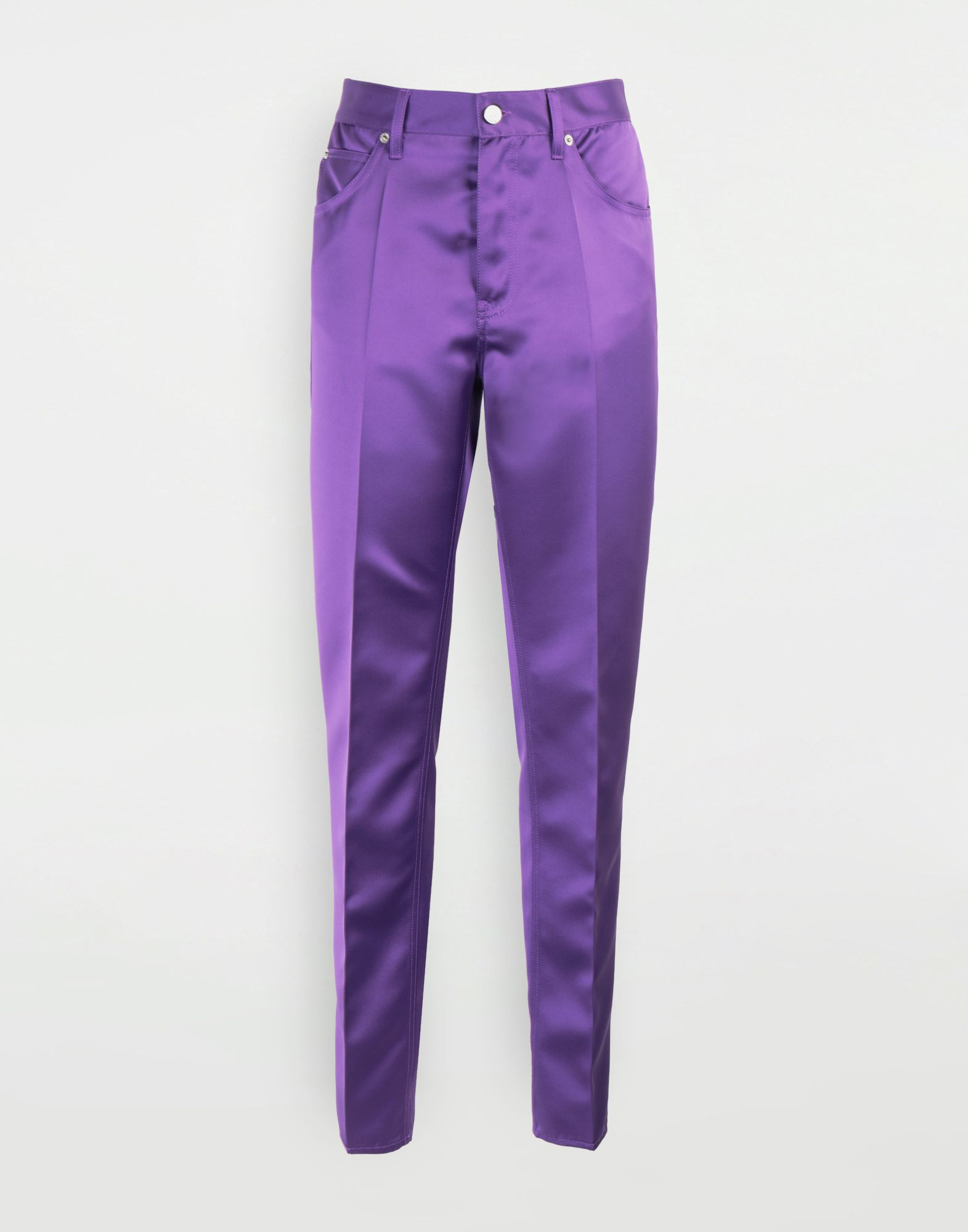 MM6 MAISON MARGIELA High-waisted trousers Casual pants Woman f