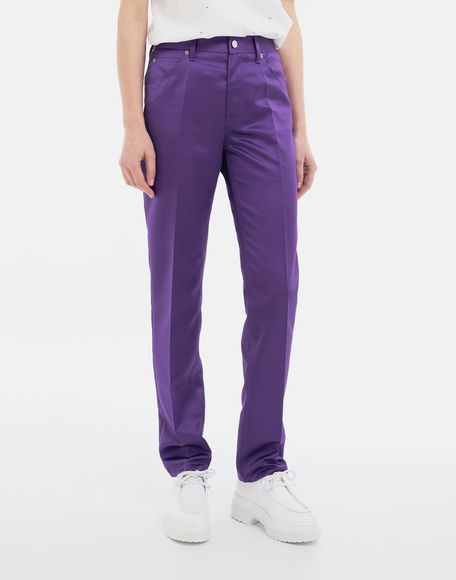 MM6 MAISON MARGIELA High-waisted trousers Casual pants Woman r