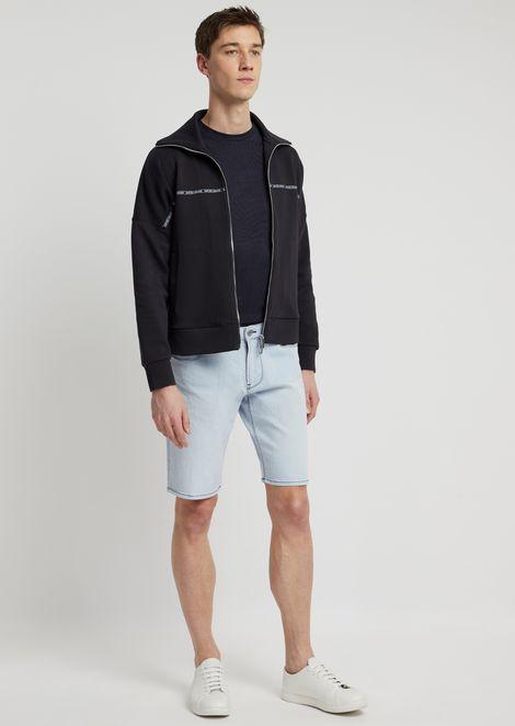 12oz right-hand comfort denim shorts