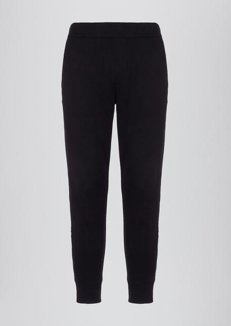 Superlight scuba fabric jogging trousers