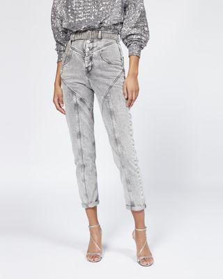 ISABEL MARANT TROUSER Woman REI jeans r