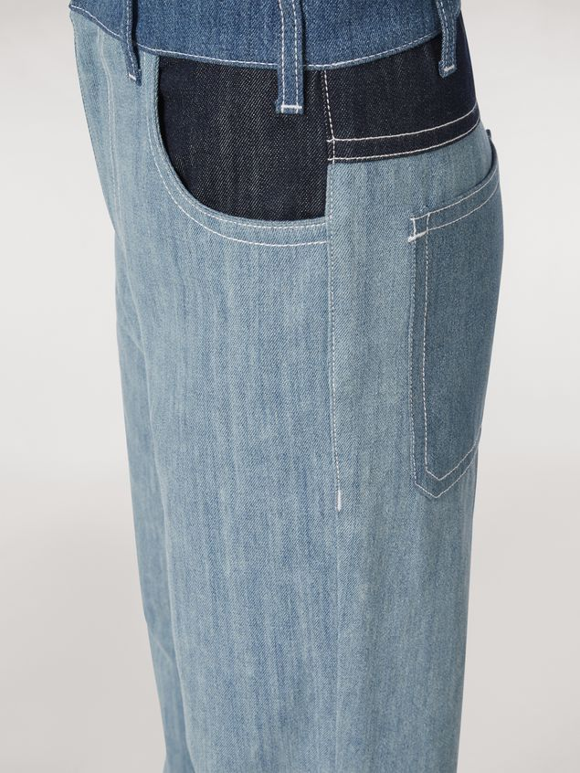 Marni Indigo denim drill 5-pocket pants Woman - 5