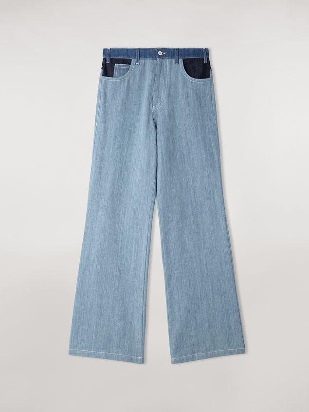 Marni Indigo denim drill 5-pocket trousers Woman - 2