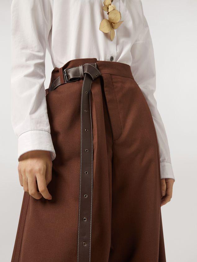 Marni Tropical wool trousers Woman - 5