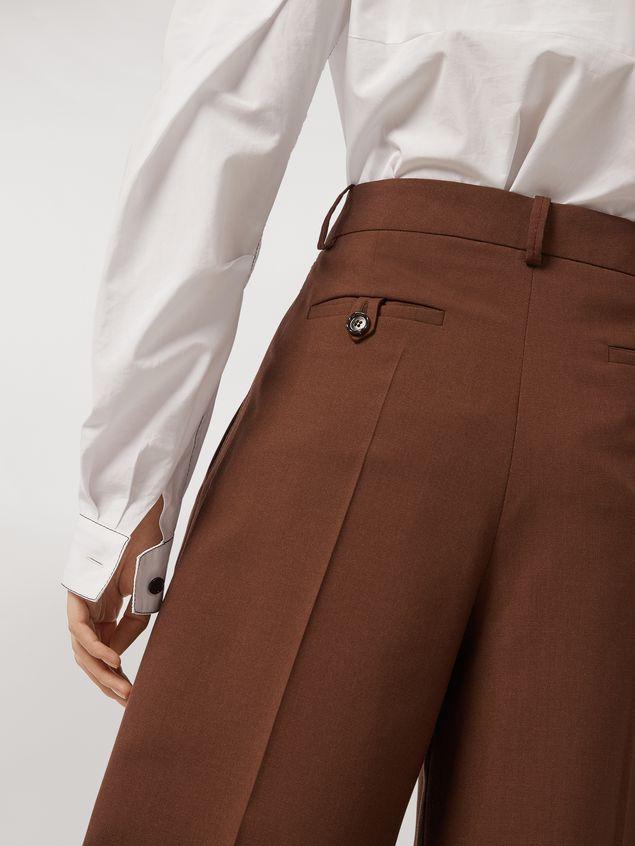 Marni Tropical wool trousers Woman - 4