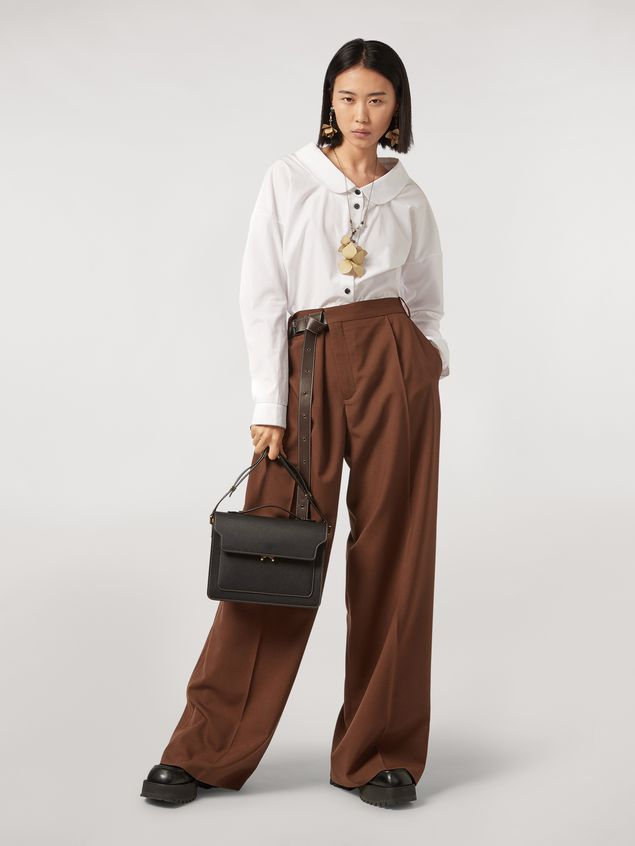 Marni Tropical wool trousers Woman - 1