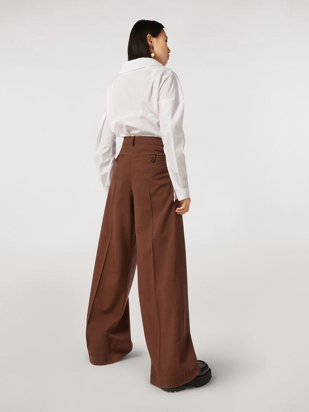 Marni Tropical wool trousers Woman - 3