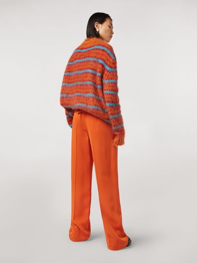 Marni Cady bicrepe trousers Woman