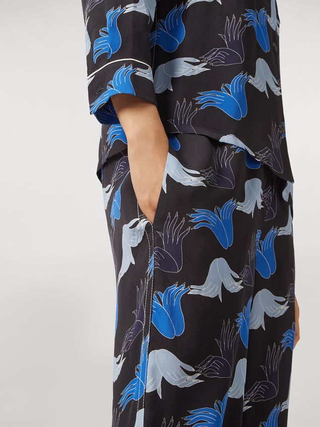 Marni Viscose sablé trousers Prelude print by Bruno Bozzetto Woman - 5