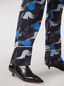 Marni Viscose sablé trousers Prelude print by Bruno Bozzetto Woman - 4