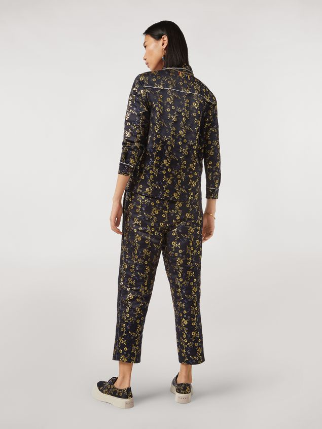 Marni Pants in flower jacquard Woman