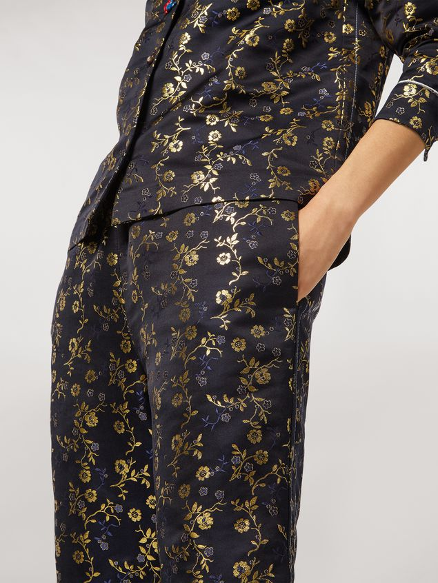 Marni Pants in flower jacquard Woman - 5