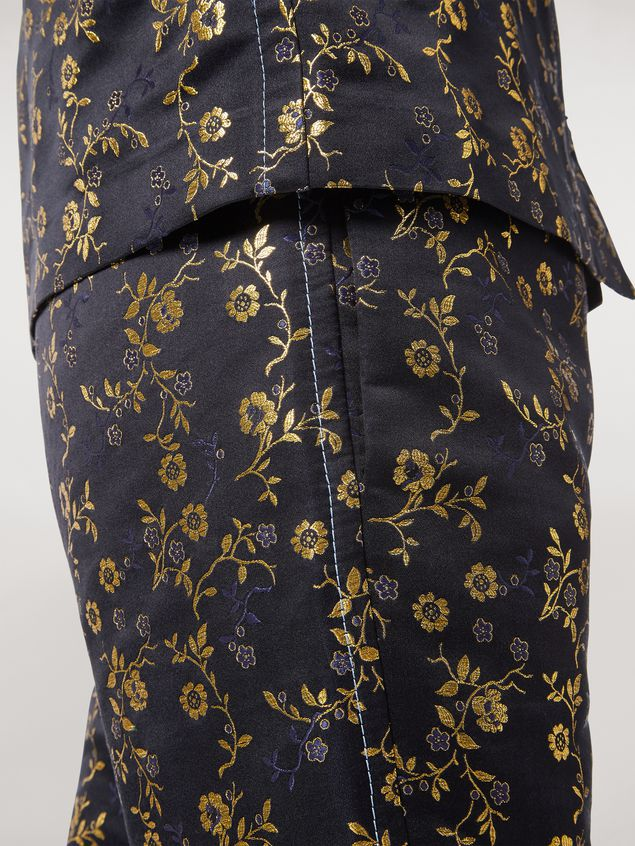 Marni Pants in flower jacquard Woman - 4