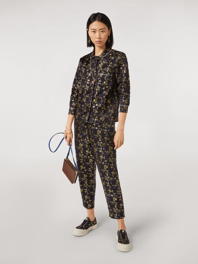 Marni Pants in flower jacquard Woman - 1