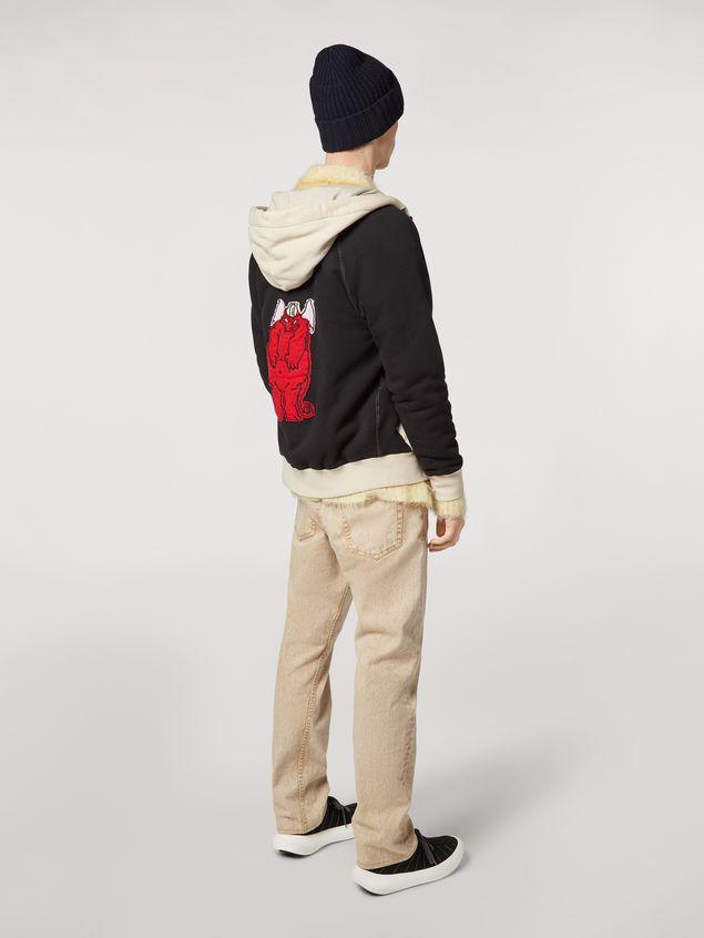 Marni Pantalones 5 bolsillos de denim sobreteñido  Hombre