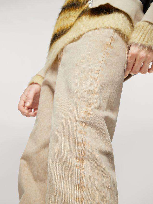 Marni Pantalones 5 bolsillos de denim sobreteñido  Hombre - 5