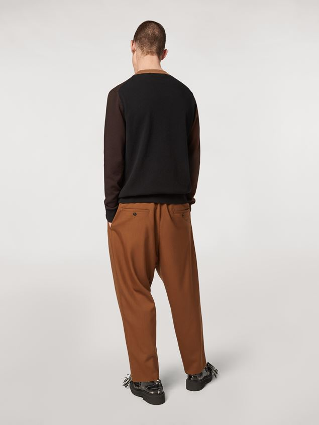 Marni Tropical wool trousers Man