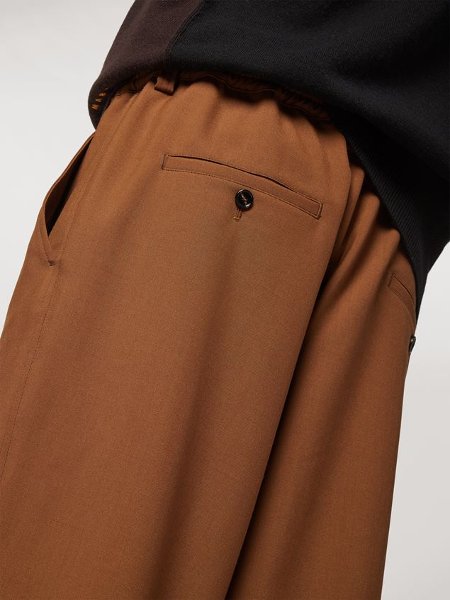 Marni Tropical wool trousers Man - 4