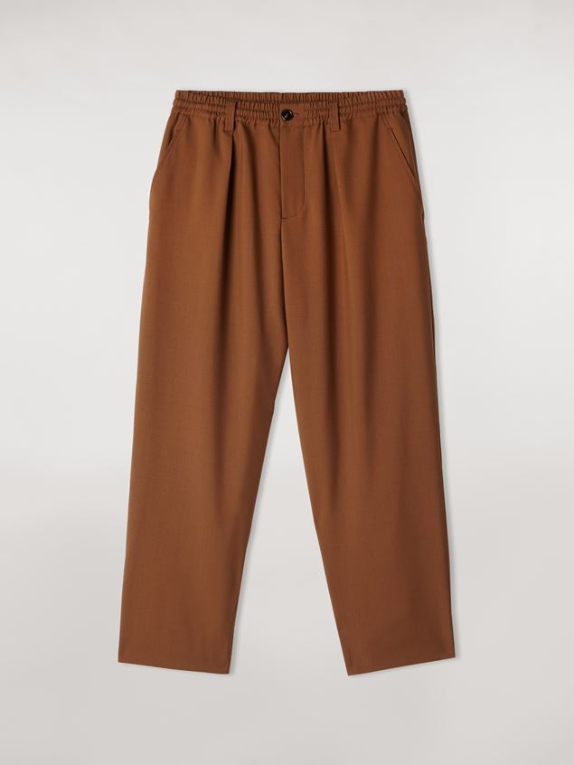 Marni Tropical wool trousers Man - 1