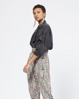 ISABEL MARANT PANT Woman MARIANO pants r