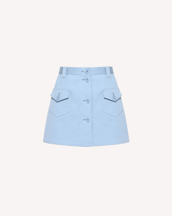 REDValentino Cotton gabardine shorts