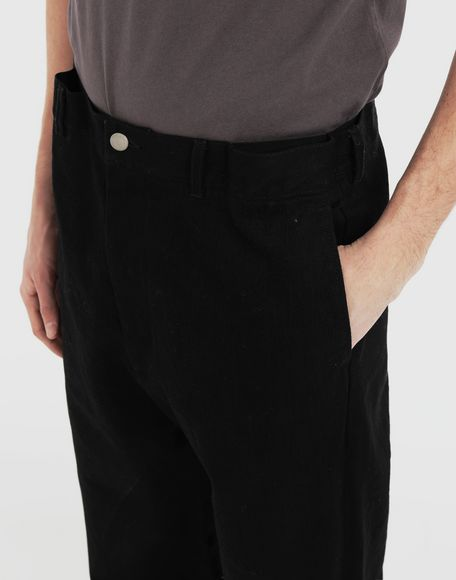MAISON MARGIELA Puckered straight-leg  trousers Casual pants Man a