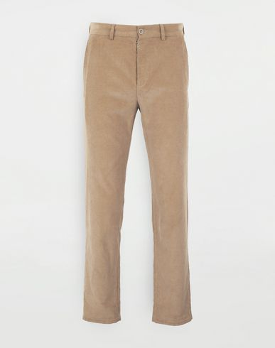 MAISON MARGIELA Corduroy trousers Casual pants Man f