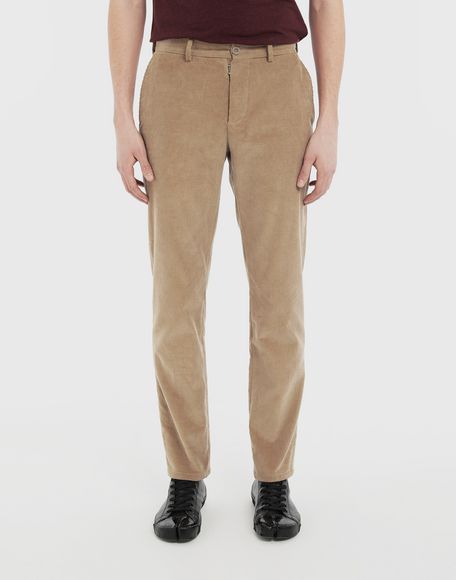 MAISON MARGIELA Corduroy trousers Casual pants Man r