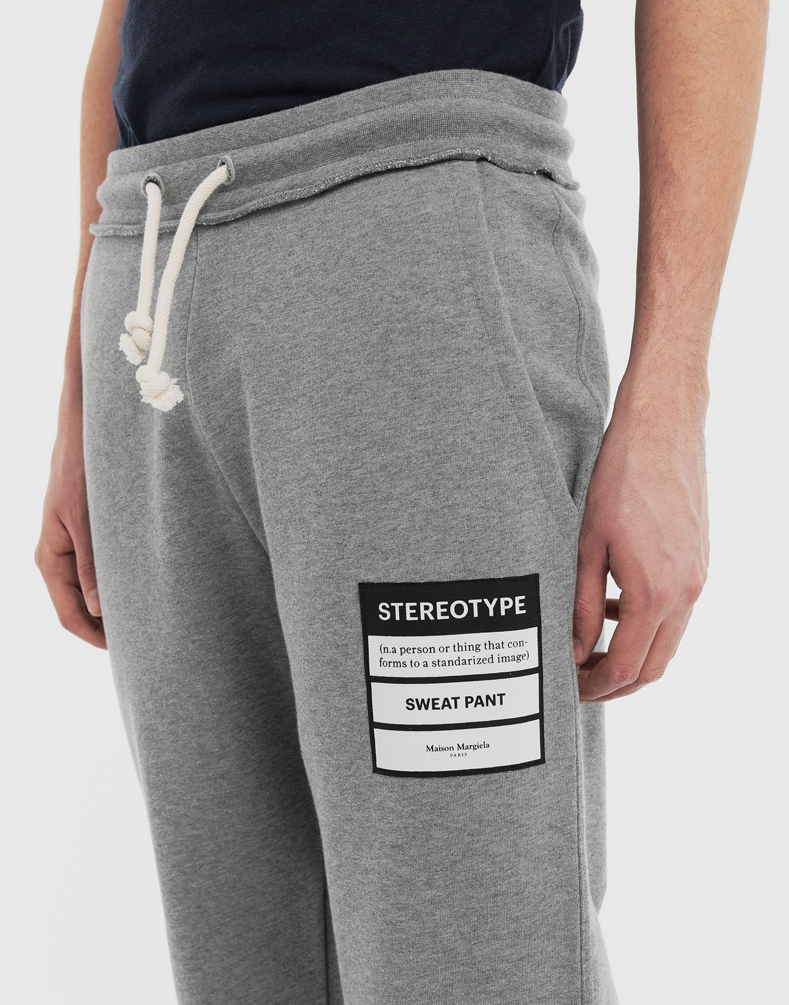 MAISON MARGIELA Stereotype joggers Trousers Man a