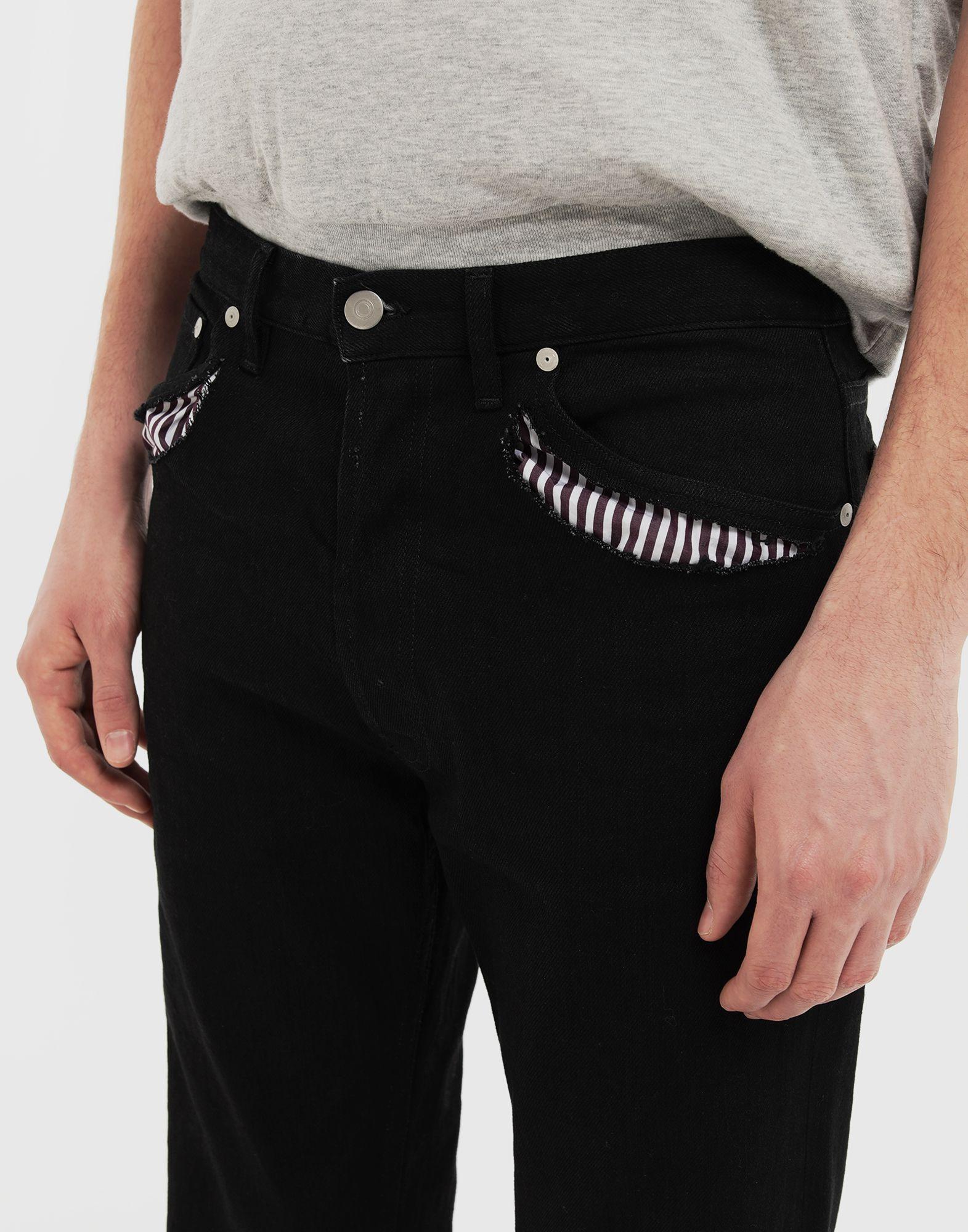 MAISON MARGIELA Décortiqué jeans Jeans Man a
