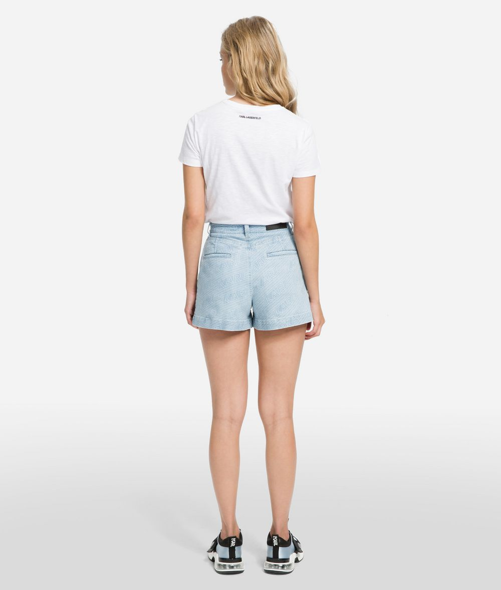 KARL LAGERFELD K/Karlifornia Denim Shorts Shorts Woman d