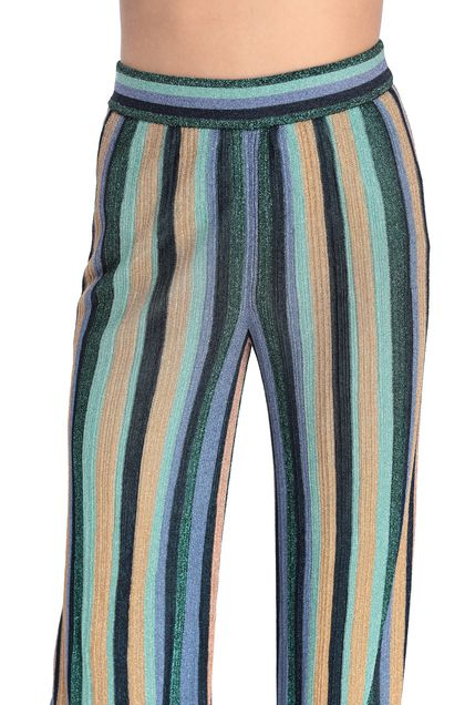 M MISSONI Pants Light green Woman - Front