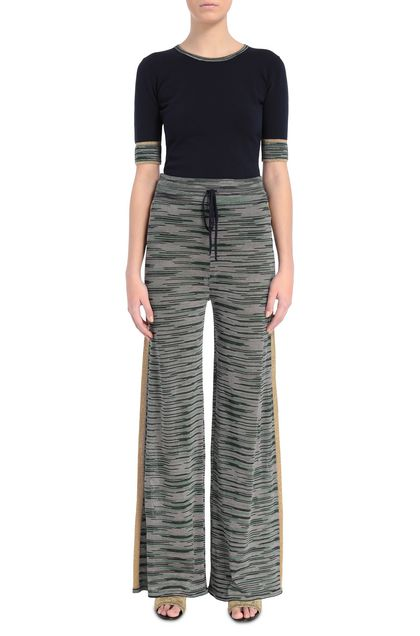 M MISSONI Pants Green Woman - Back