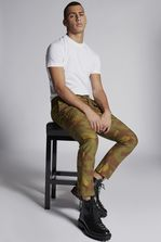 DSQUARED2 Cotton Camouflage Sexy Cargo Pants Trousers Man