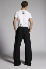 DSQUARED2 Mert & Marcus 1994 x Dsquared2 Brushed Cotton Fleece Pants Trousers Man