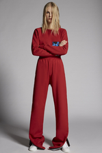 DSQUARED2 Mert & Marcus 1994 x Dsquared2 Brushed Cotton Fleece Pants Trousers Woman