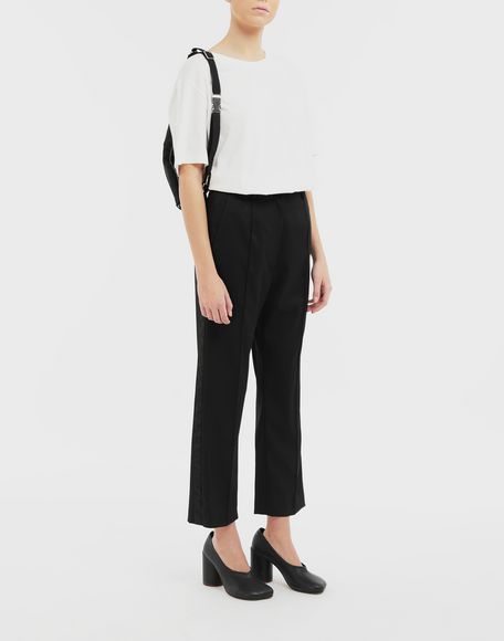 MM6 MAISON MARGIELA Trousers with belt Trousers Woman d