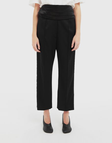 MM6 MAISON MARGIELA Trousers with belt Trousers Woman r