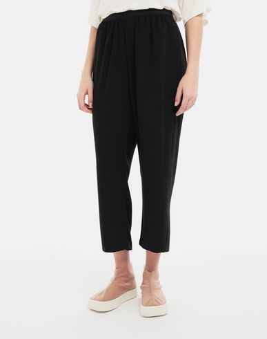 TROUSERS Relaxed-fit trousers Black