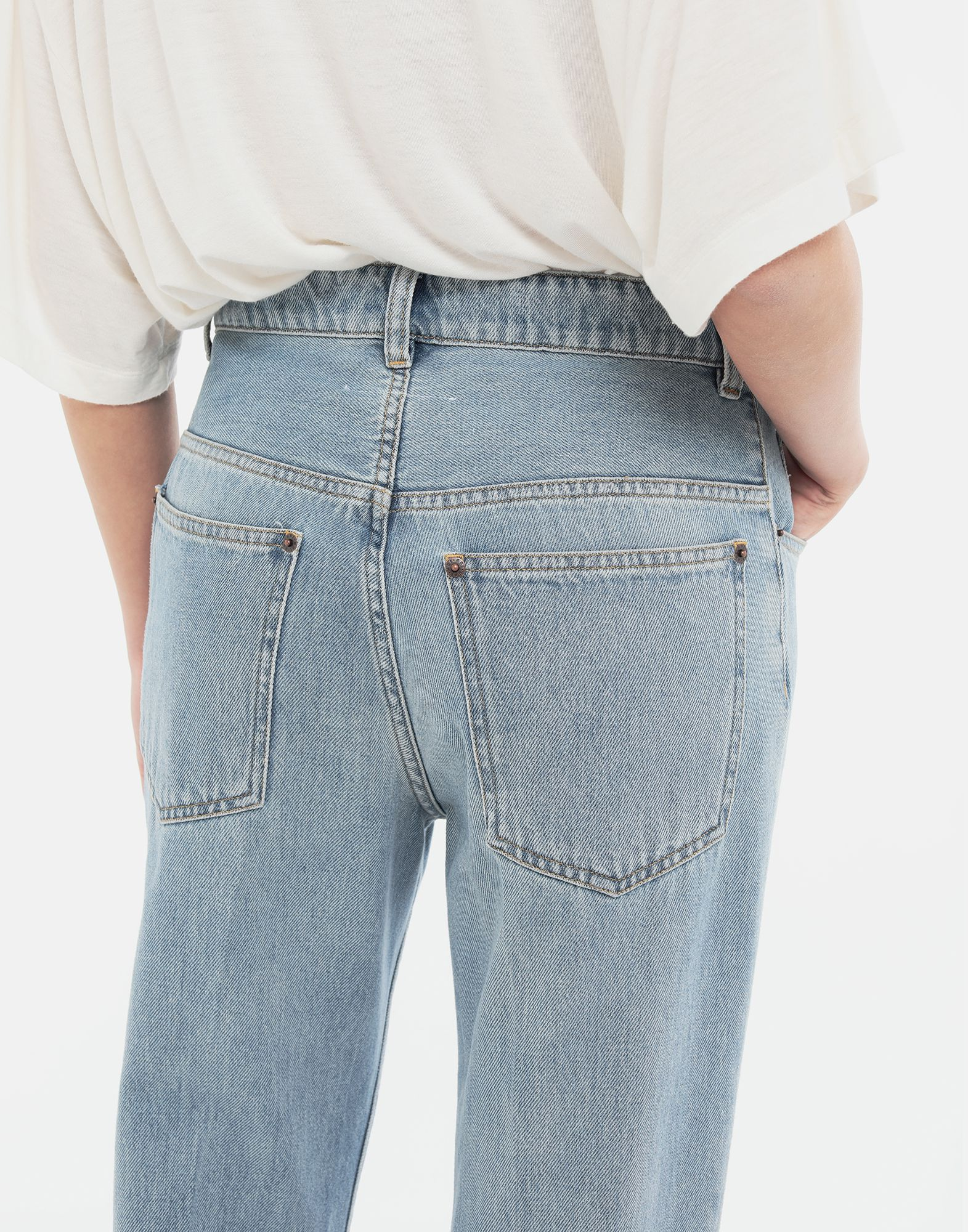 MM6 MAISON MARGIELA Relaxed-fit jeans Jeans Woman b