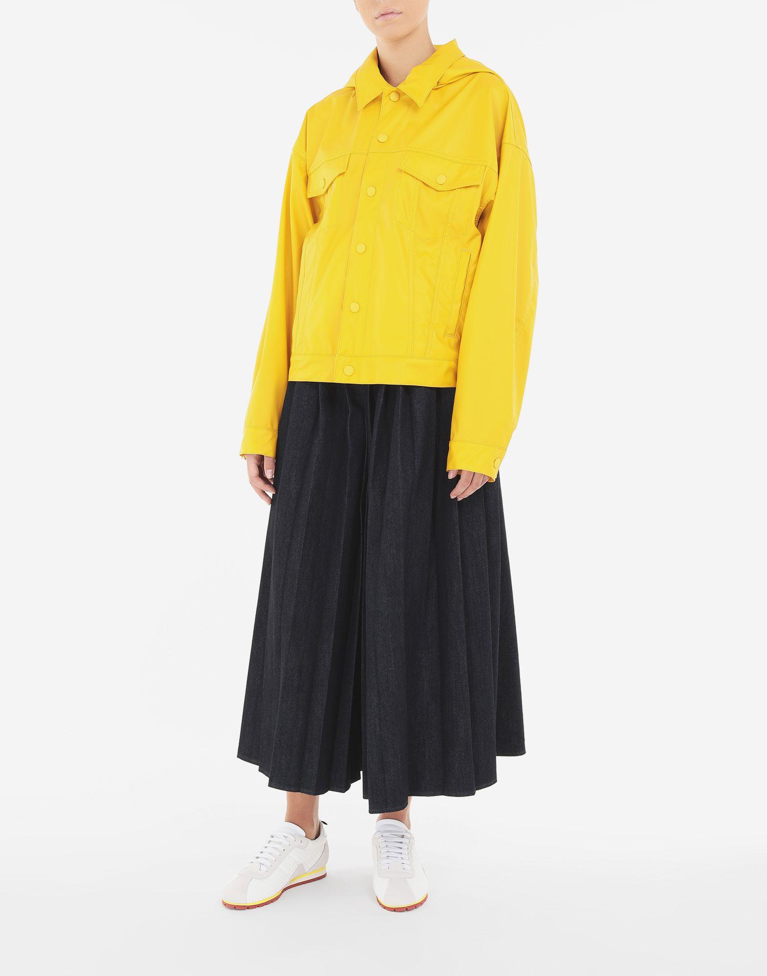 MM6 MAISON MARGIELA Pleated denim trousers Trousers Woman d